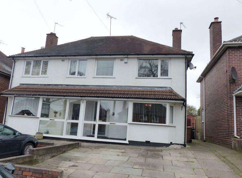 3 Bedrooms Semi Detached House for sale in Raeburn Road, Great Barr