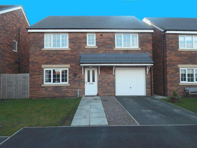 4 Bedrooms Detached House for sale in Charles Church Design : Swanston Grove, South Shore, Blyth