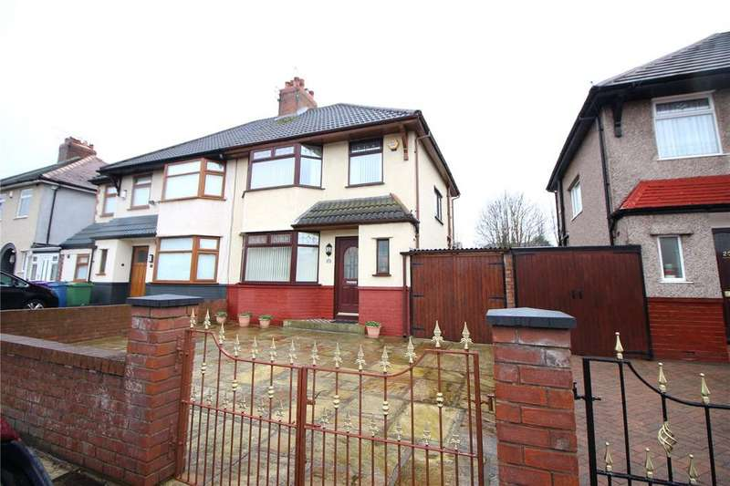 3 Bedrooms Semi Detached House for sale in Westcliffe Road, Liverpool, Merseyside, L12