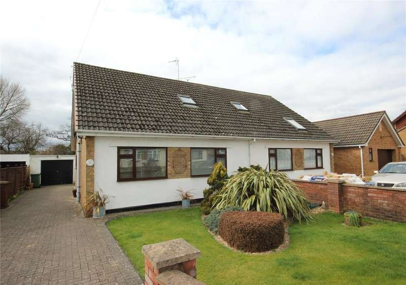 3 Bedrooms Semi Detached Bungalow for sale in Bibury Avenue, Patchway, Bristol, BS34