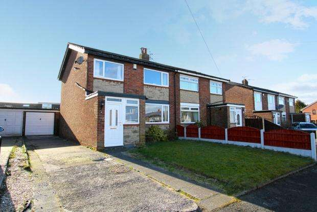 3 Bedrooms Semi Detached House for sale in Tatton Drive Ashton In Makerfield Wigan