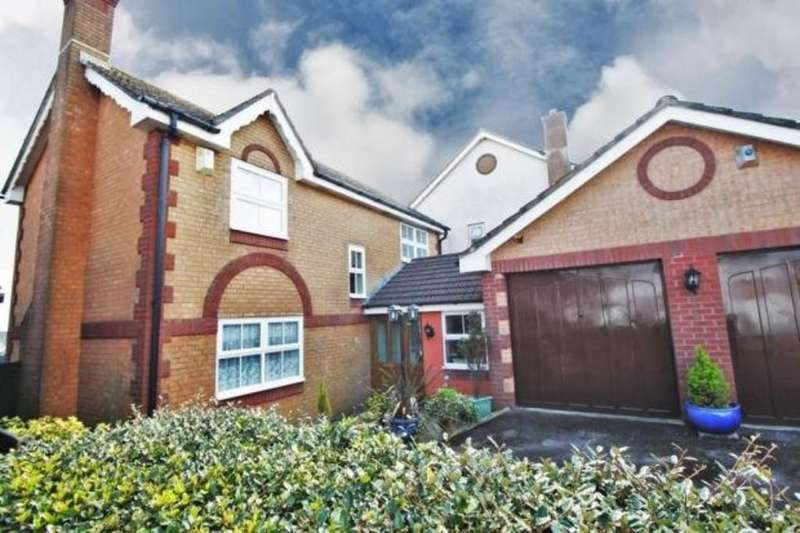 4 Bedrooms Detached House for sale in Louville Close, Goodrington