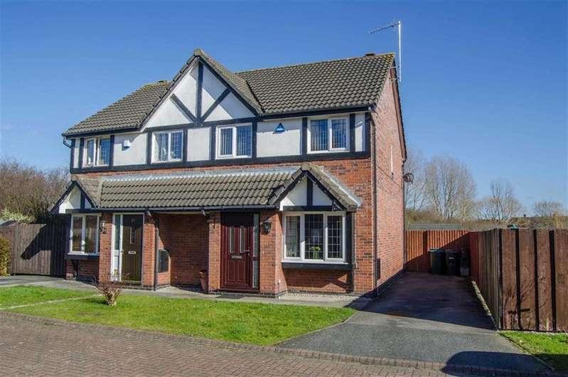 3 Bedrooms Semi Detached House for sale in Toft Close, Saltney, Flintshire, Chester
