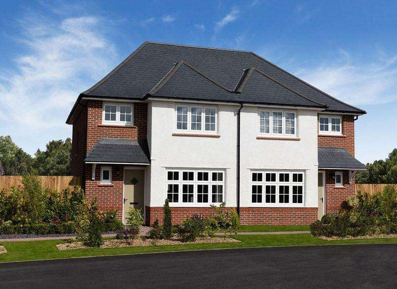 3 Bedrooms Semi Detached House for sale in Ludlow, Langley Country Park
