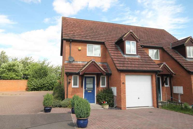 2 Bedrooms Semi Detached House for sale in Heron Way, Royston