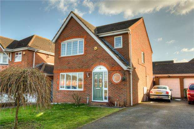 3 Bedrooms Detached House for sale in Jourdain Park, Heathcote, Warwick
