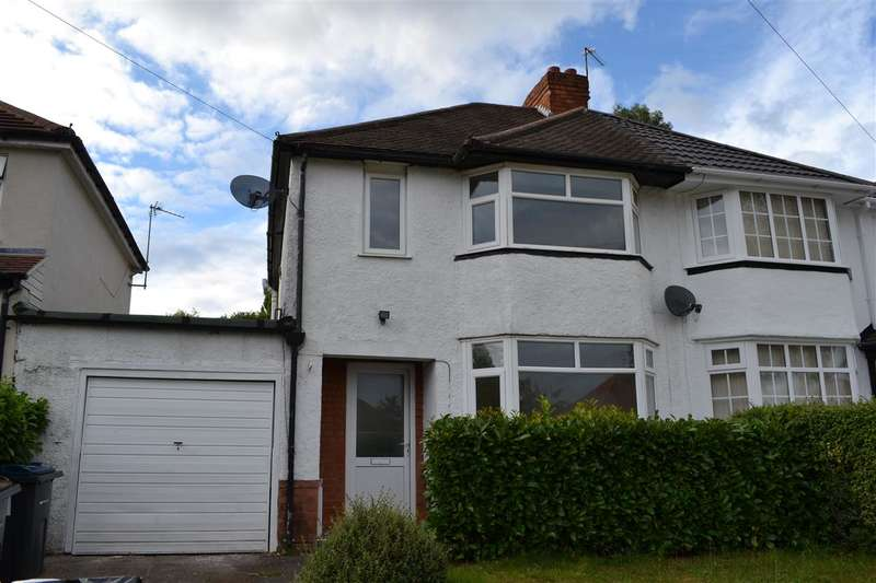 3 Bedrooms Semi Detached House for rent in Longmore Road, Sutton Coldfield