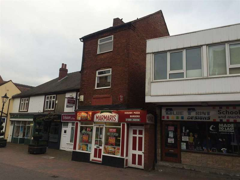 Shop Commercial for sale in Upper Brook Street, Rugeley, Rugeley