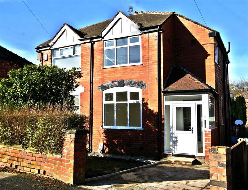 3 Bedrooms Semi Detached House for sale in Dovedale Avenue, Prestwich
