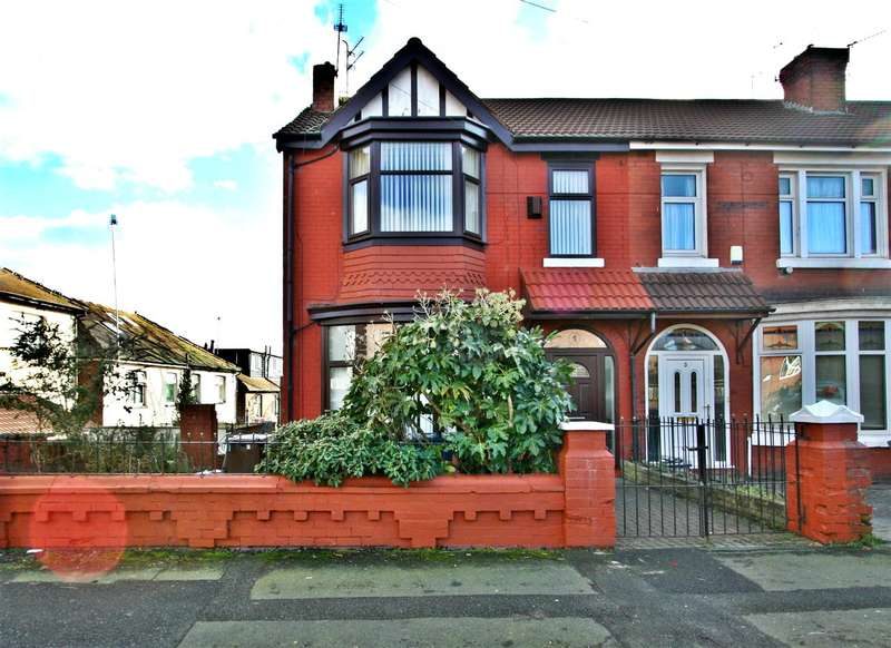 3 Bedrooms End Of Terrace House for sale in Circular Road, Prestwich
