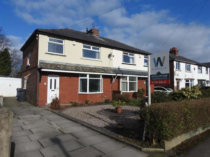 3 Bedrooms Semi Detached House for sale in Nelson Avenue, Leyland