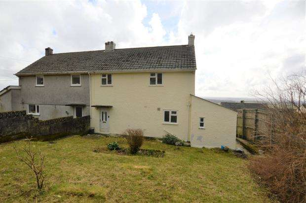 3 Bedrooms Semi Detached House for sale in Trethewey Gardens, Wotter, Plymouth