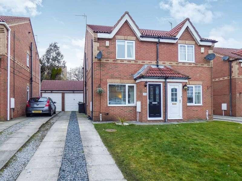 2 Bedrooms Property for sale in Garside Grove, Peterlee, Durham, SR8 2QB
