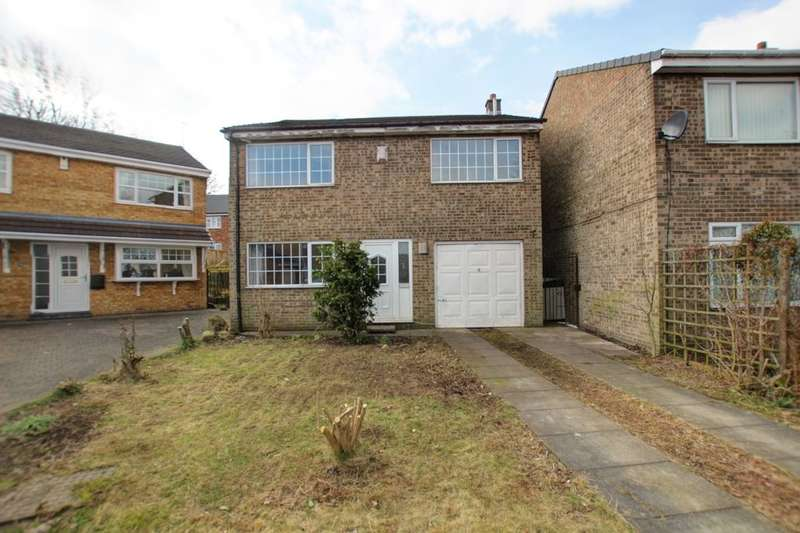 4 Bedrooms Detached House for sale in Springside, Sacriston, Durham, DH7