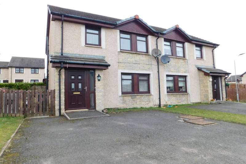 3 Bedrooms Semi Detached House for sale in Castledyke Lea, Carstairs, Lanark, ML11