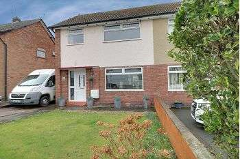 3 Bedrooms Semi Detached House for sale in Queens Drive, Sandbach, CW11 1BN