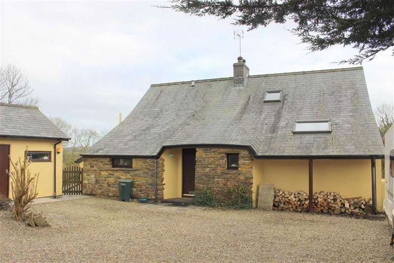 3 Bedrooms Detached House for sale in East Williamston, Tenby