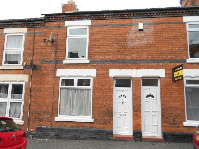 2 Bedrooms Terraced House for sale in Saunders Street, Crewe, Cheshire
