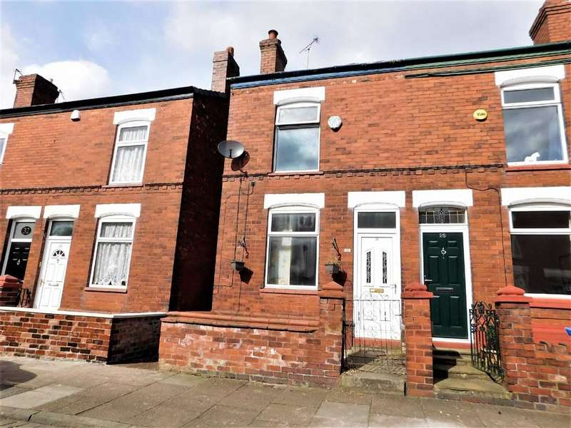 2 Bedrooms End Of Terrace House for sale in Berlin Road, Edgeley, Stockport