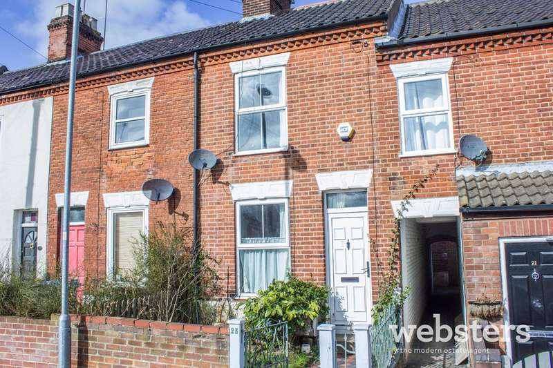 2 Bedrooms Terraced House for sale in Speke Street, Norwich NR2