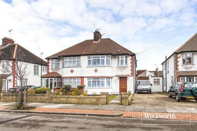4 Bedrooms Semi Detached House for sale in Sandringham Gardens, North Finchley, London, N12