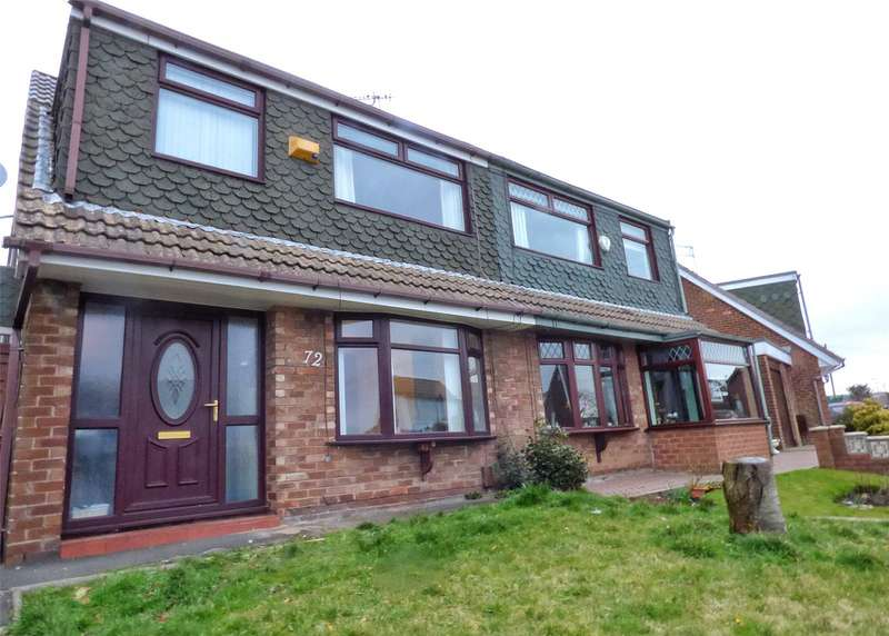 3 Bedrooms Semi Detached House for sale in Grasmere Road, Royton, Oldham, Greater Manchester, OL2
