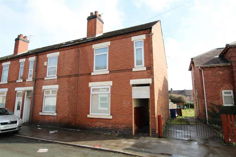 3 Bedrooms Terraced House for sale in Ash Street, Burton