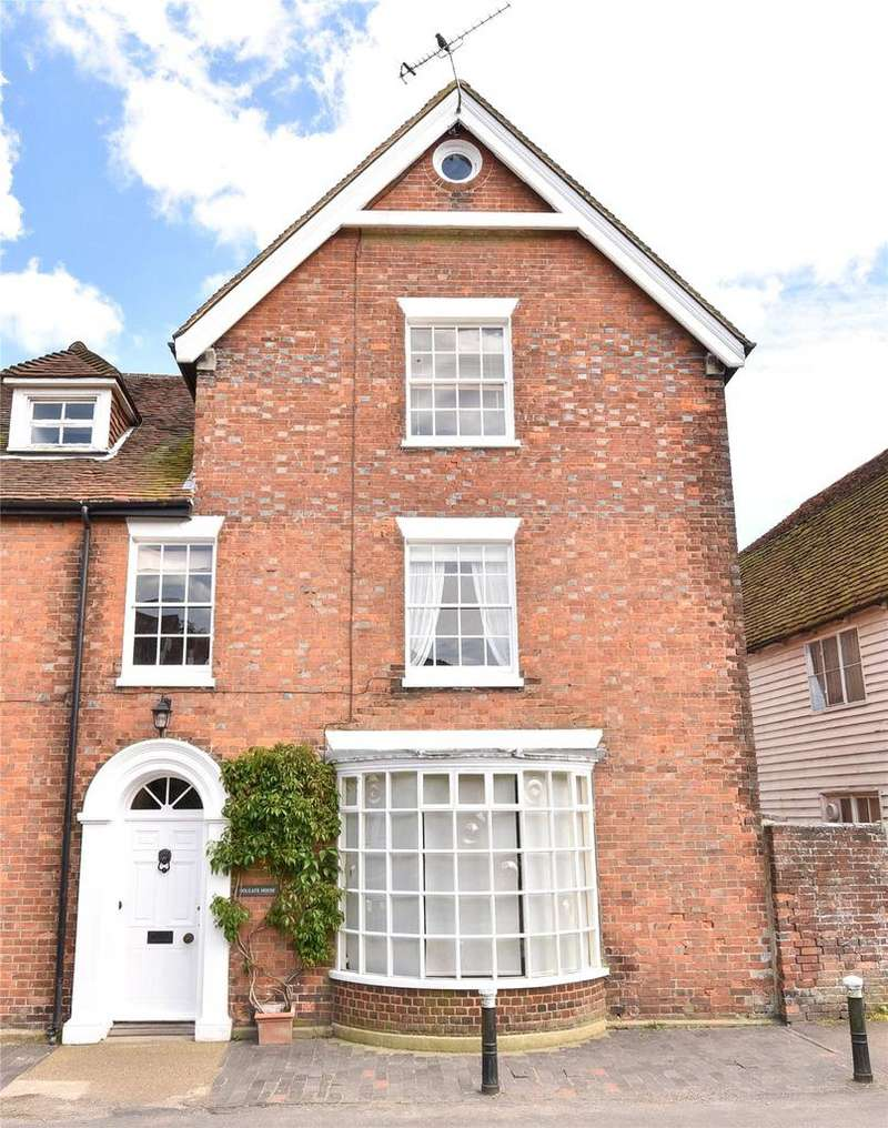 4 Bedrooms Semi Detached House for sale in Church Street, Ticehurst, Wadhurst, East Sussex, TN5