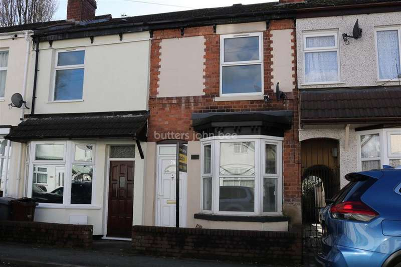2 Bedrooms Terraced House for sale in Leslie Road, Park Village, Wolverhampton.