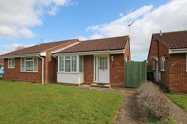 2 Bedrooms Semi Detached Bungalow for sale in St. Georges Walk, Eastergate PO20