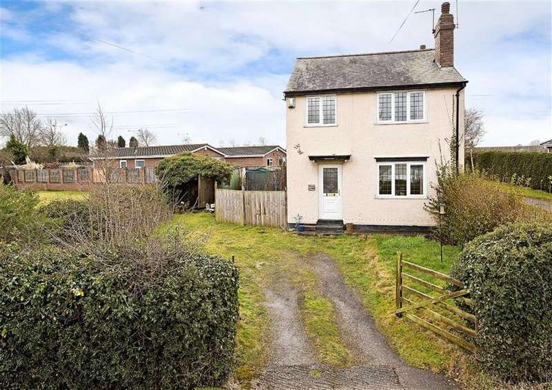 2 Bedrooms Detached House for sale in Holly Cottage, School Lane, Coven, Wolverhampton, WV9