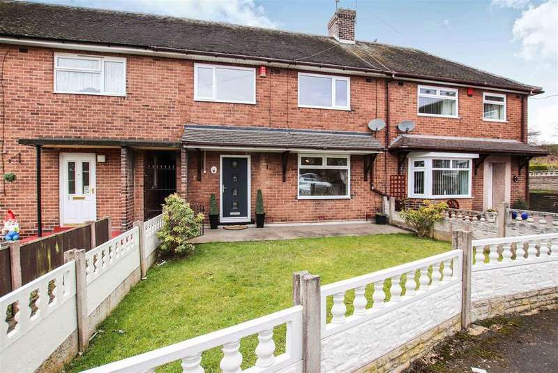 3 Bedrooms Town House for sale in Chatsworth Place, Chesterton, Newcastle, Staffs
