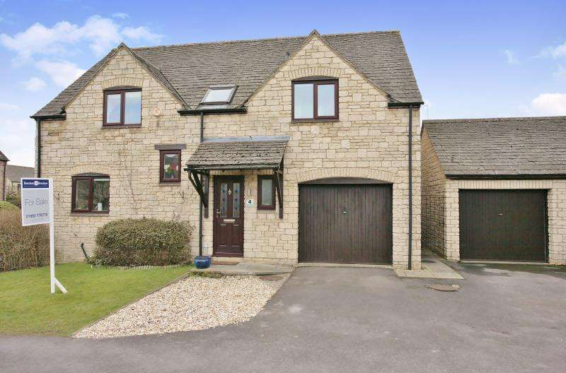 4 Bedrooms Detached House for sale in Westcote Close, Witney, Oxfordshire