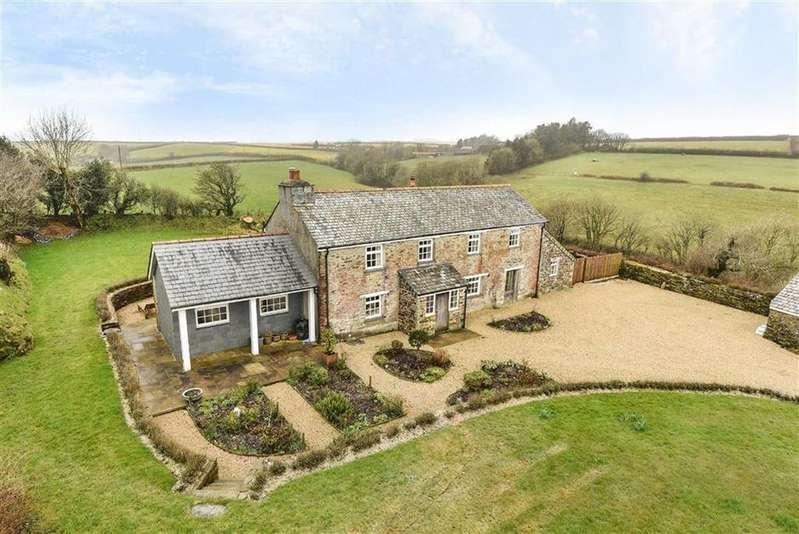 4 Bedrooms Detached House for sale in Duloe, Liskeard, Cornwall, PL14
