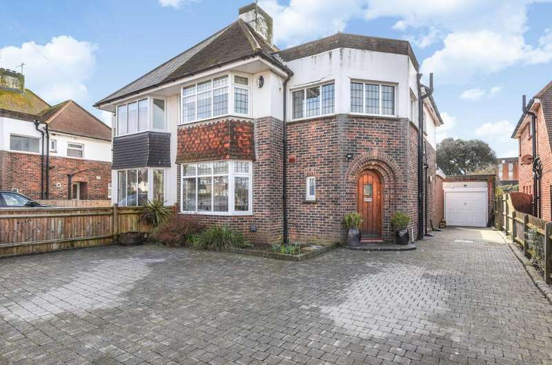 3 Bedrooms Semi Detached House for sale in Croft Avenue Southwick West Sussex BN42