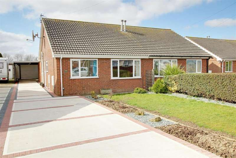 2 Bedrooms Semi Detached Bungalow for sale in Rutland Road, Mablethorpe