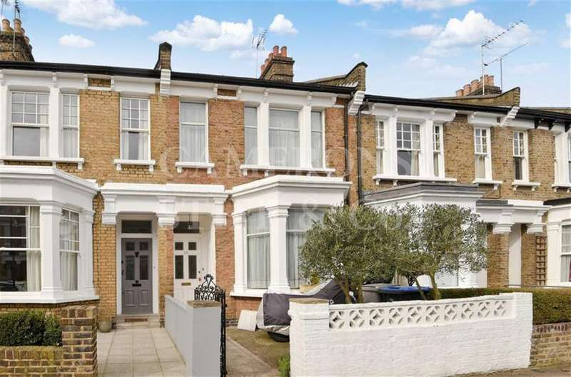 4 Bedrooms Terraced House for sale in Windermere Avenue, Queens Park, London, NW6