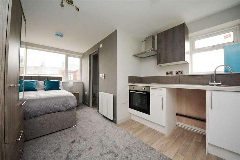 Studio Flat for rent in Phoenix House, Chadwick Street, Leigh, WN7