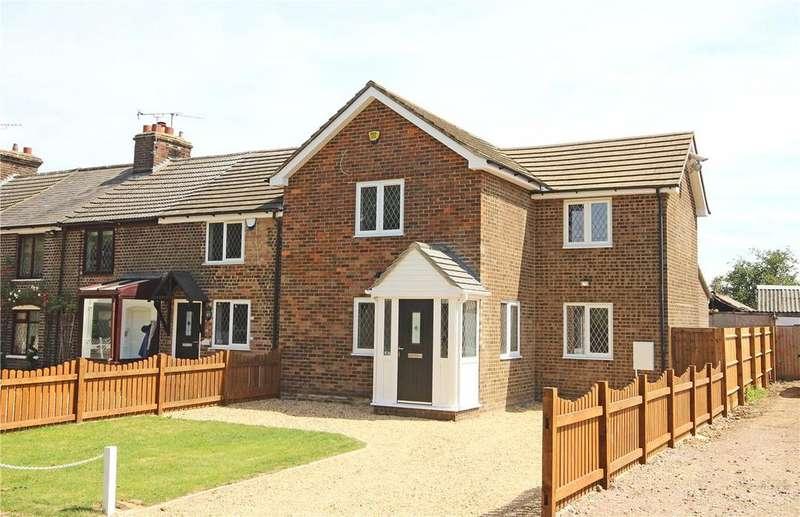 3 Bedrooms Semi Detached House for sale in Chaul End Road, Caddington, Bedfordshire