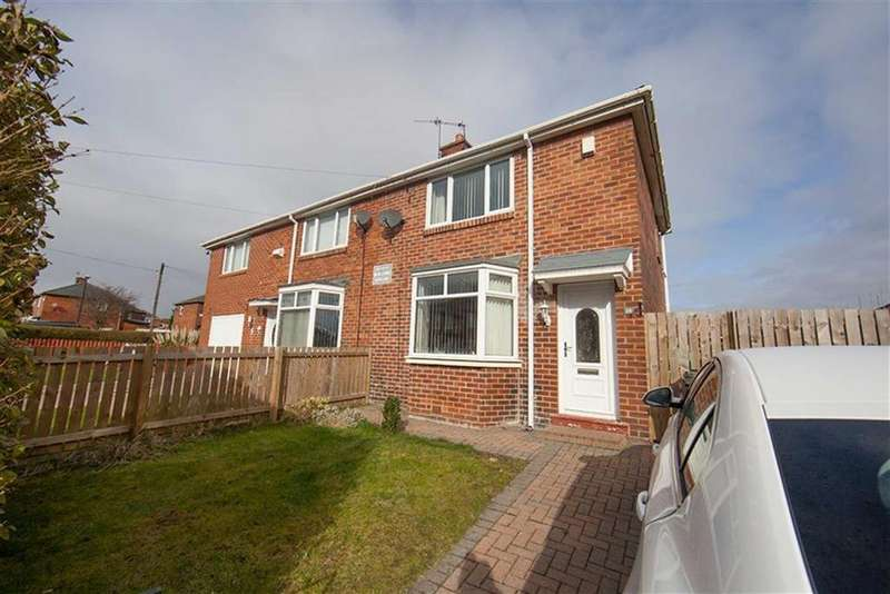 2 Bedrooms Semi Detached House for sale in Cross Avenue, High Farm, Wallsend, NE28