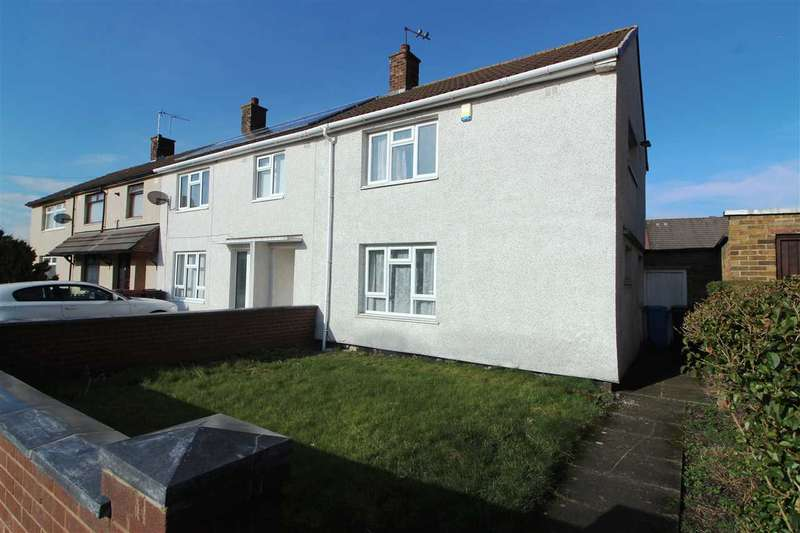 2 Bedrooms End Of Terrace House for sale in Cawthorne Avenue, Kirkby