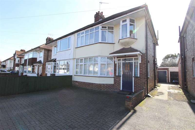3 Bedrooms Semi Detached House for sale in Colchester Road, Ipswich