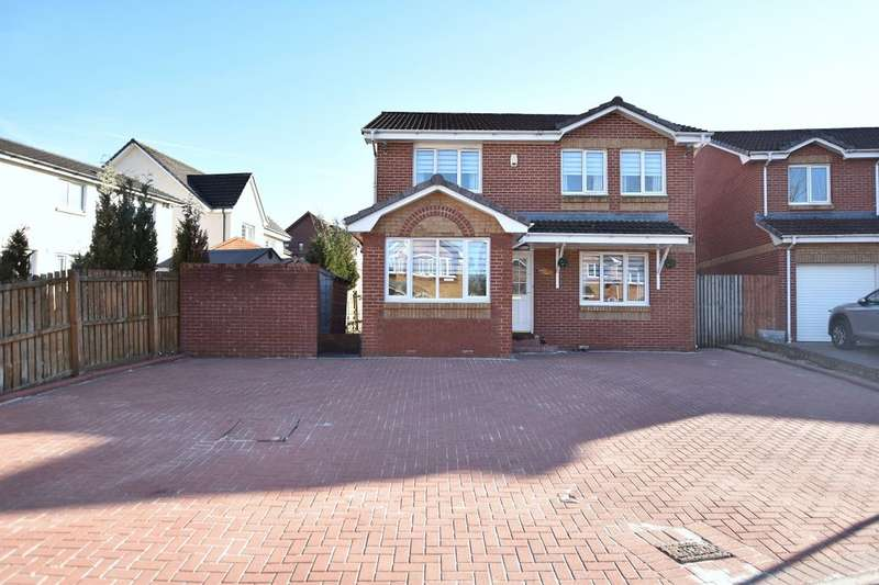 4 Bedrooms Detached House for sale in Birch Place, Cambuslang, Glasgow, G72