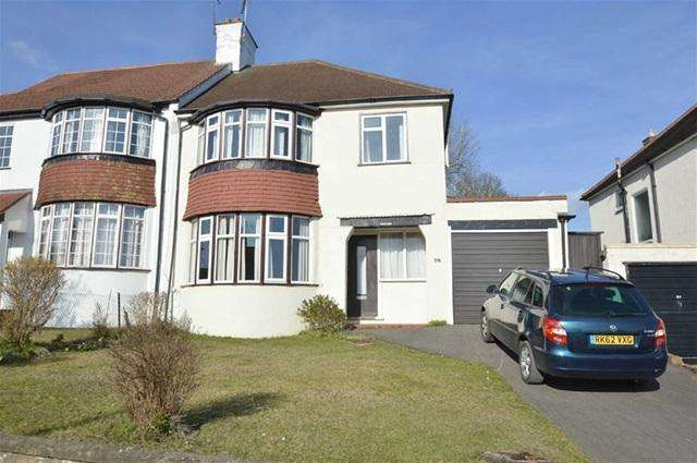 3 Bedrooms Semi Detached House for sale in Woodmansterne Road, Coulsdon