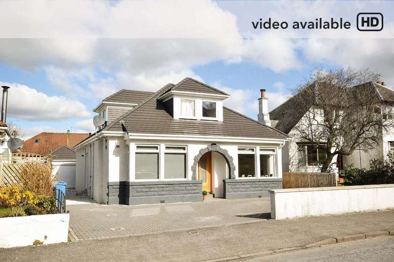 5 Bedrooms Bungalow for sale in Seres Road, Clarkston, Glasgow, G76 7QT