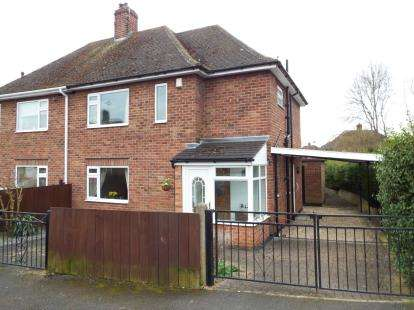 3 Bedrooms Semi Detached House for sale in Sunnyside Road, Chilwell, Nottingham
