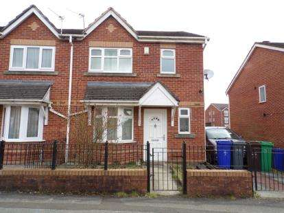 3 Bedrooms Semi Detached House for sale in Venture, Cheetwood, Manchester, Greater Manchester