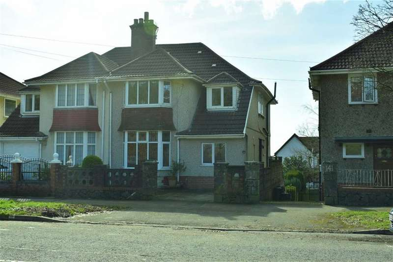 5 Bedrooms Semi Detached House for sale in Glanmor Road, Sketty
