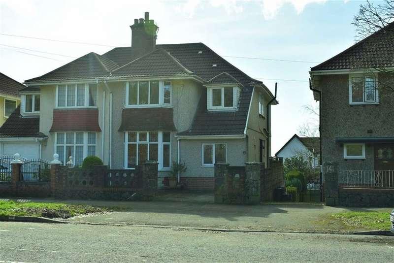 5 Bedrooms Semi Detached House for sale in Glanmor Road, Sketty, Swansea