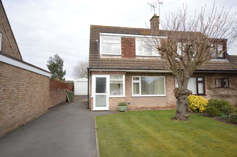 3 Bedrooms Semi Detached House for sale in Coleridge Drive, Enderby, Leicester, LE19 4QF